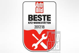 Beste Autowerkstätten 2017/18