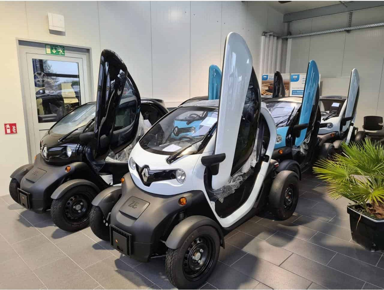 Read more about the article Frische Twizy´s!